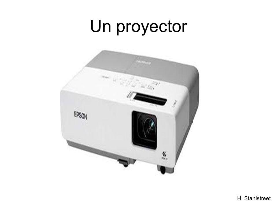 H. Stanistreet Un proyector