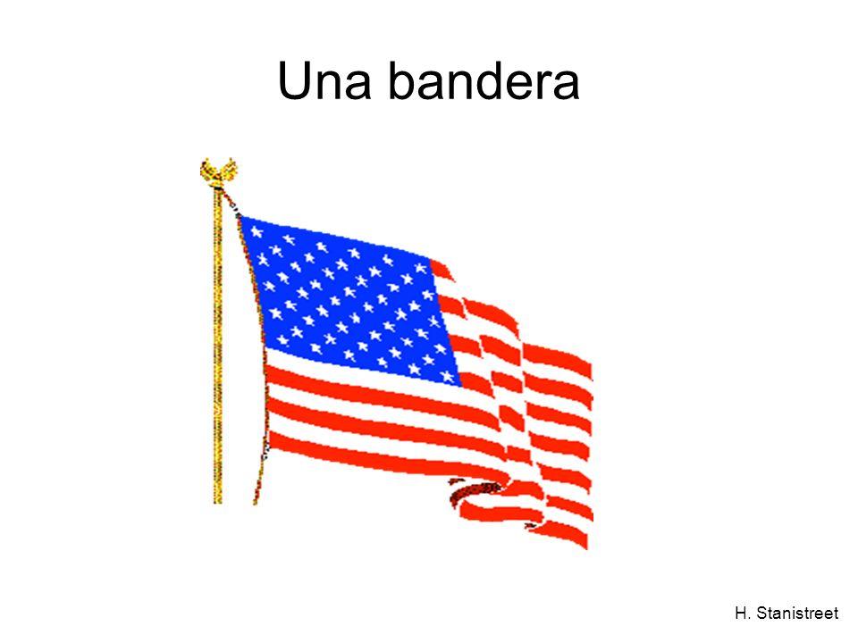 H. Stanistreet Una bandera