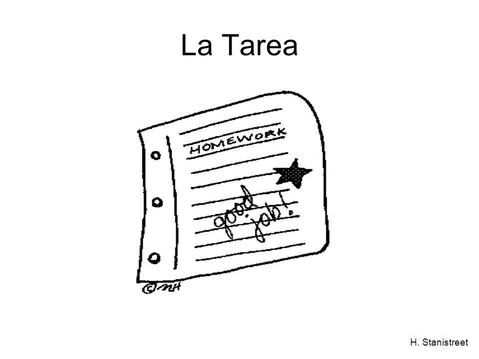 H. Stanistreet La Tarea