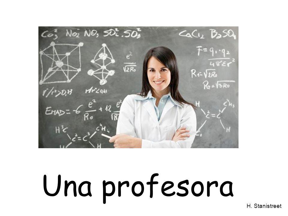 H. Stanistreet Una profesora