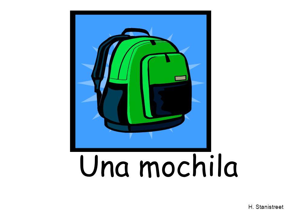 H. Stanistreet Una mochila