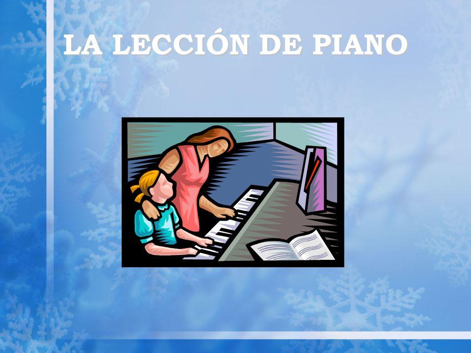 LA LECCIÓN DE PIANO