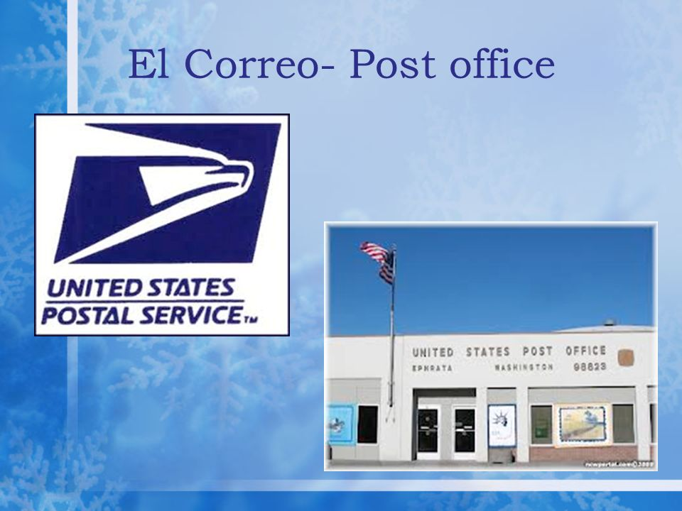 El Correo- Post office
