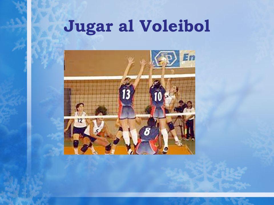 Jugar al Voleibol