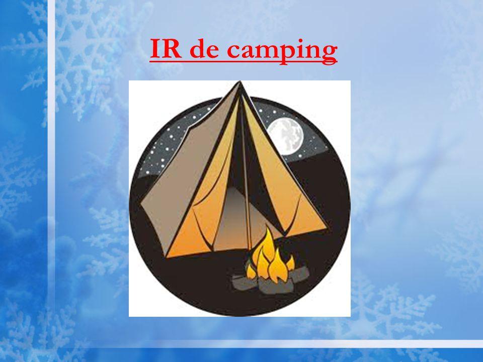 IR de camping