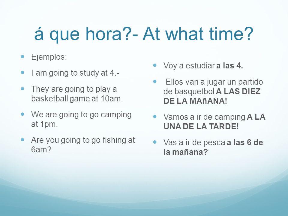 Actividades Hoy Classwork-HABLAR --p.204 Act. 10 1.