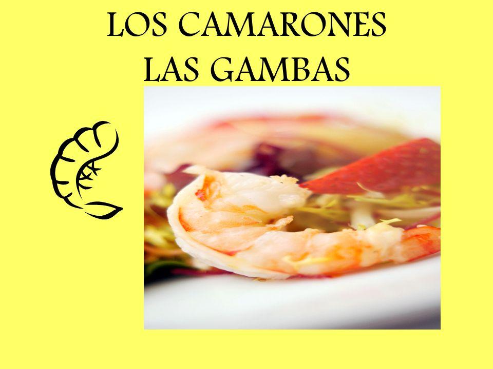 LOS CAMARONES LAS GAMBAS
