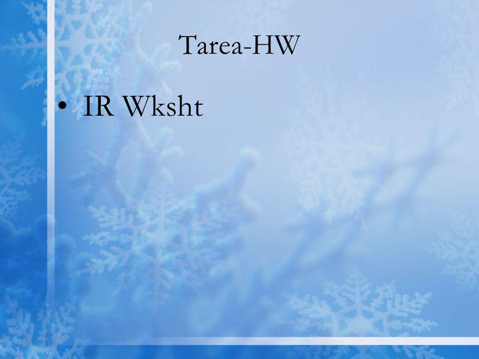Tarea-HW IR Wksht