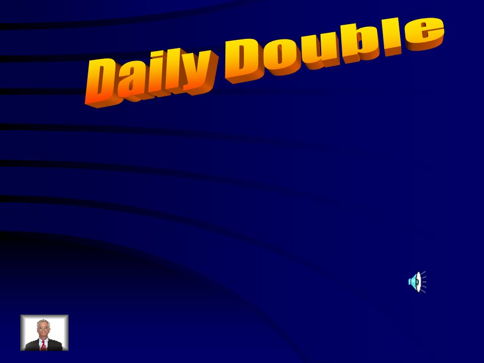 Daily Double Answer Double A: damos