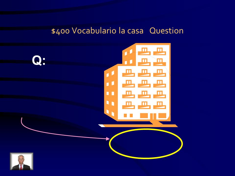 $400 Vocabulario los quehaceres Question Q:.