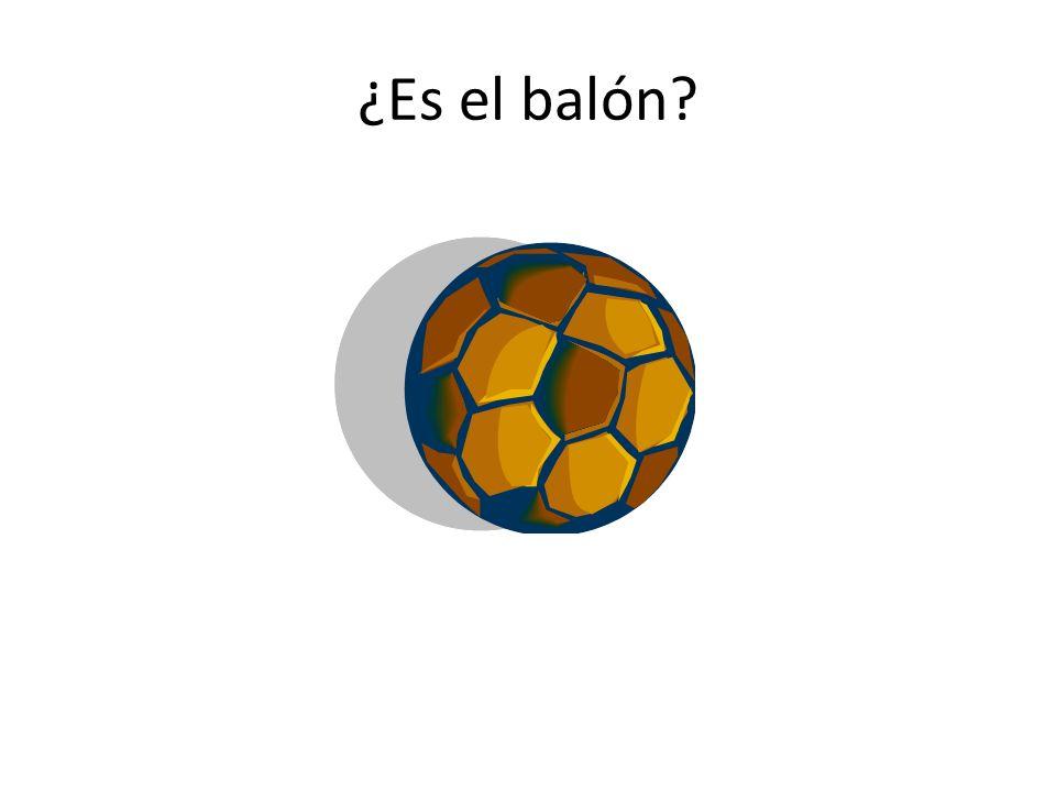 ¿Es el balón?