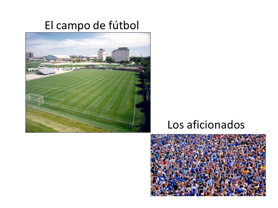 El campo de fútbol Los aficionados