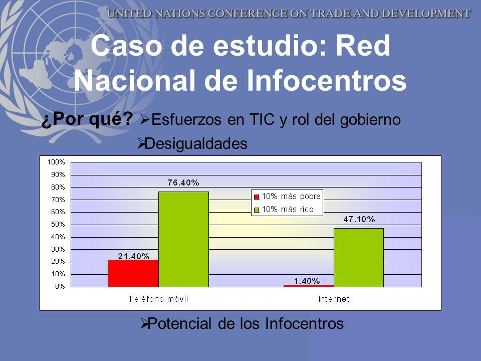 Caso de estudio: Red Nacional de Infocentros ¿Por qué.