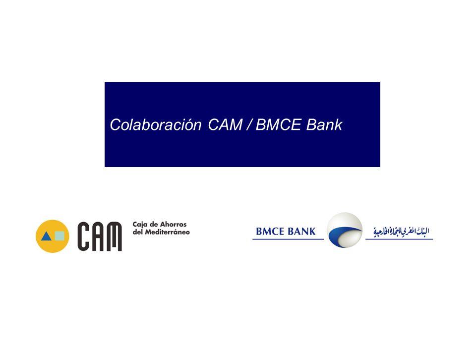 Colaboración CAM / BMCE Bank