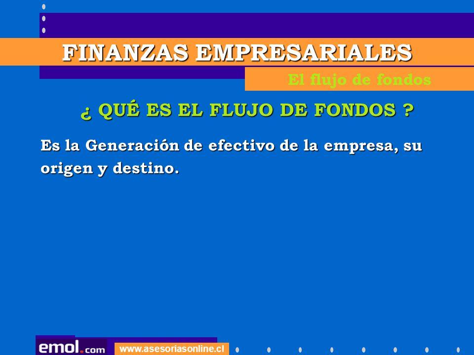 www.asesoriasonline.cl ¿ CÓMO SE CONTROLA ESTE FLUJO .