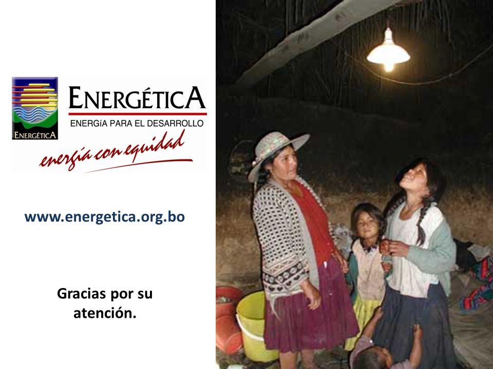 www.energetica.org.bo Gracias por su atención.