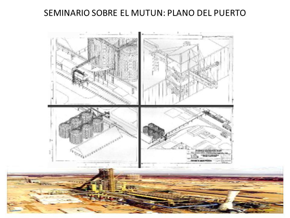 SEMINARIO SOBRE EL MUTUN: PLANO DEL PUERTO