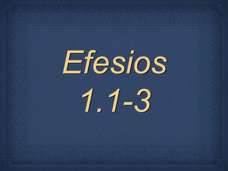 Efesios 1.1-3