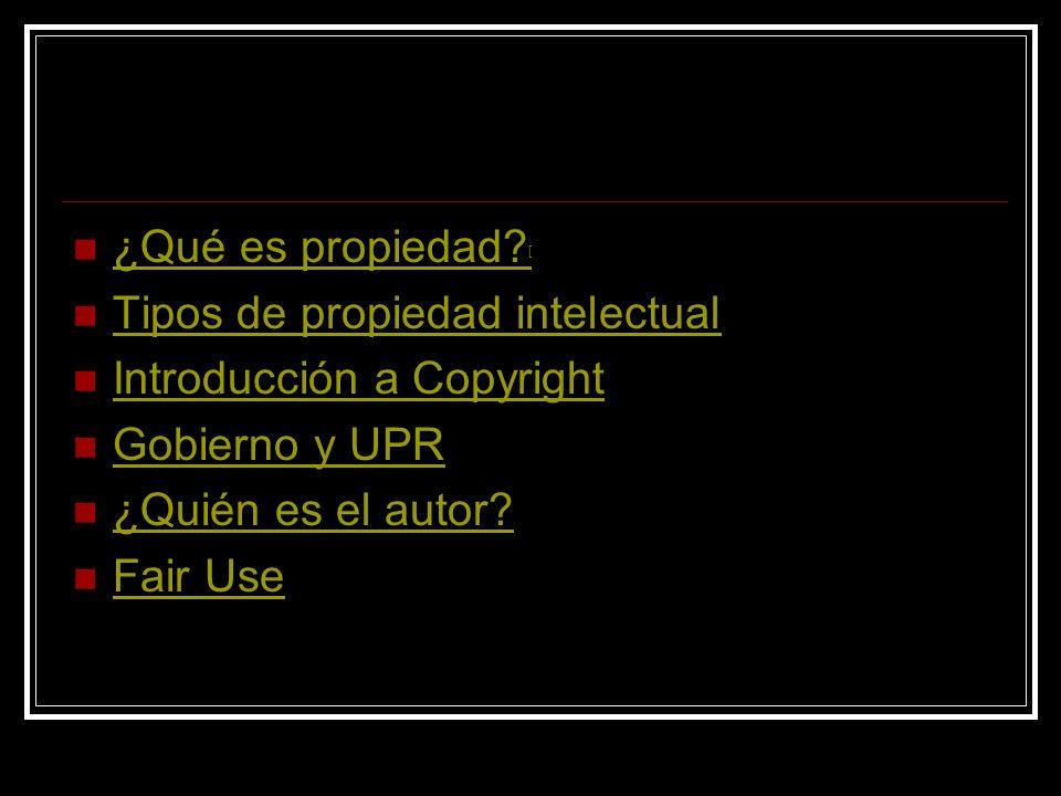Propiedad Intelectual Pedro J. Rodríguez Esquerdo, PhD, JD Instituto de Estadística y Sistemas Computadorizados de Información Facultad de Administrac