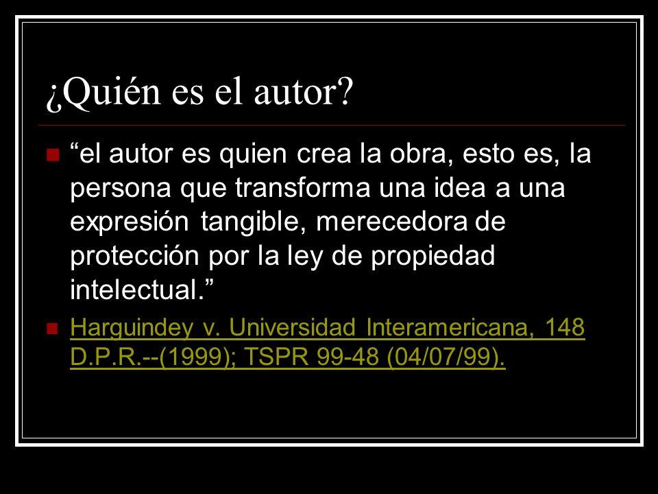 Trabajos en la UPR CES 93-140 2 UPR titular obras producto del ejercicio de funciones administrativas u académicas específicamente comisionadas y ofic
