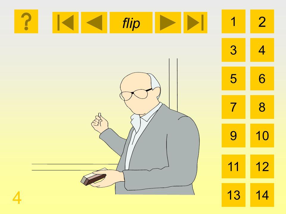 1 3 2 4 5 7 6 8 910 1112 1314 flip 14 la calculadora