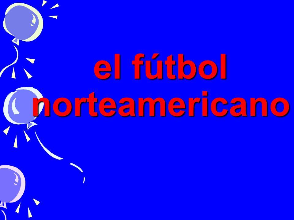 el fútbol norteamericano