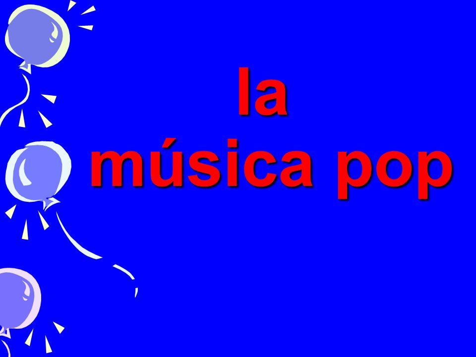 la música pop