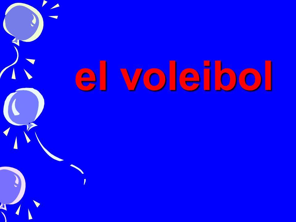 el voleibol