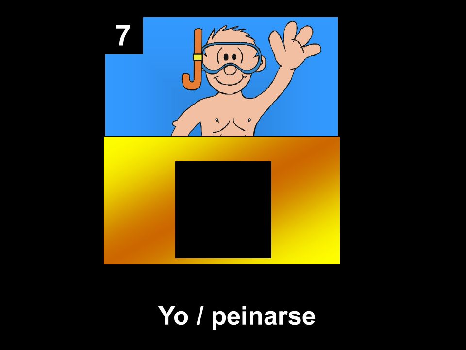 7 Yo / peinarse