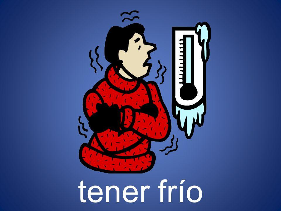 tener frío