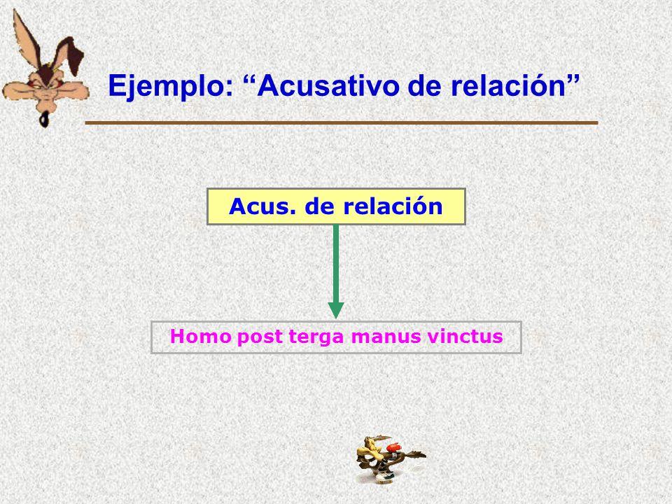 Ejemplos: finalidad Acus. C.C. de finalidad Locum idoneum ad navigationem delegit Locum idoneum ad navigandum delegit Con sustantivo verbalCon gerundi