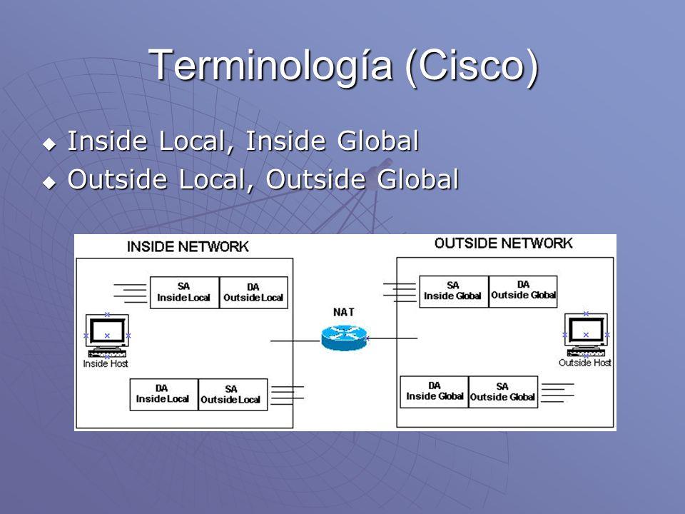 Terminología (Cisco)