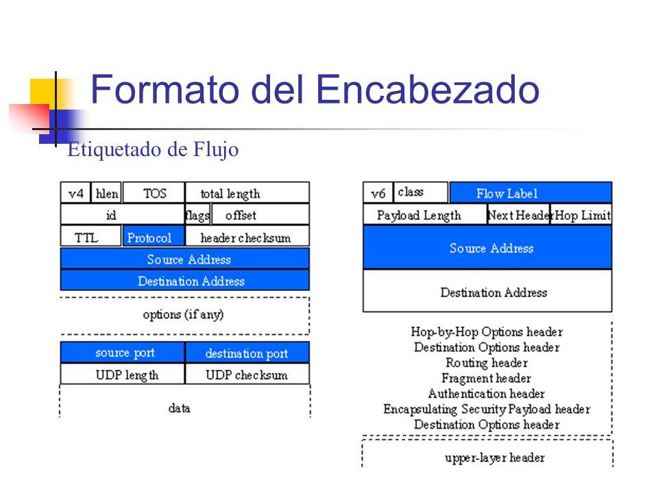 Etiquetado de Flujo Formato del Encabezado
