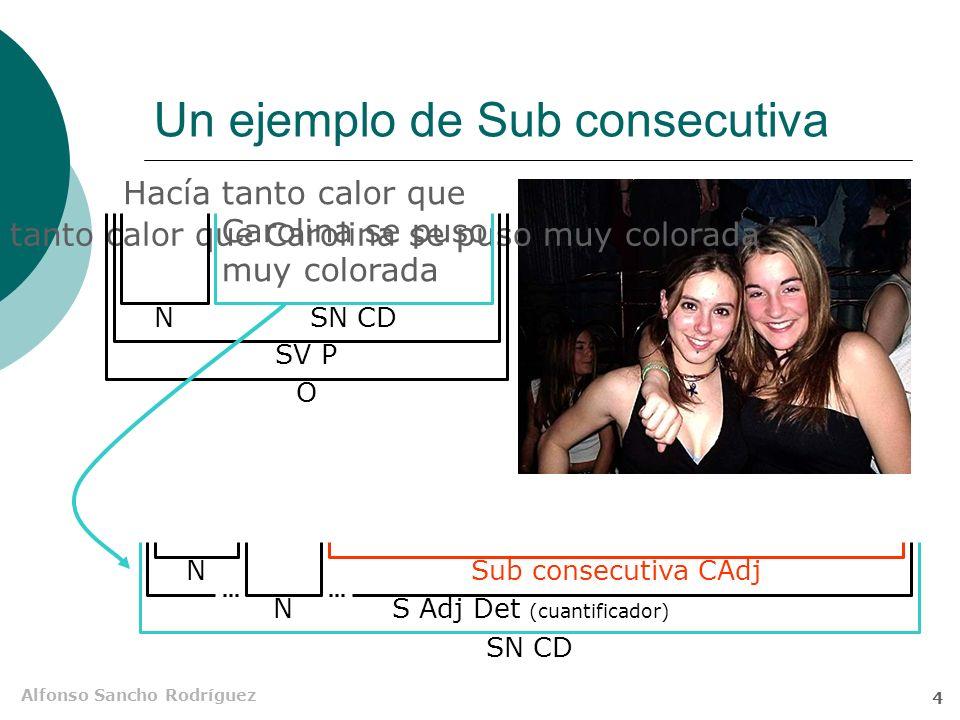 Alfonso Sancho Rodríguez 3 Clasificación 2 Sustantivas Adjetivas Adverbiales Subordinadas Propias Impropias Locativas Temporales Modales Causales Finales Concesivas Condicionales Consecutivas Comparativas Cuantitativas