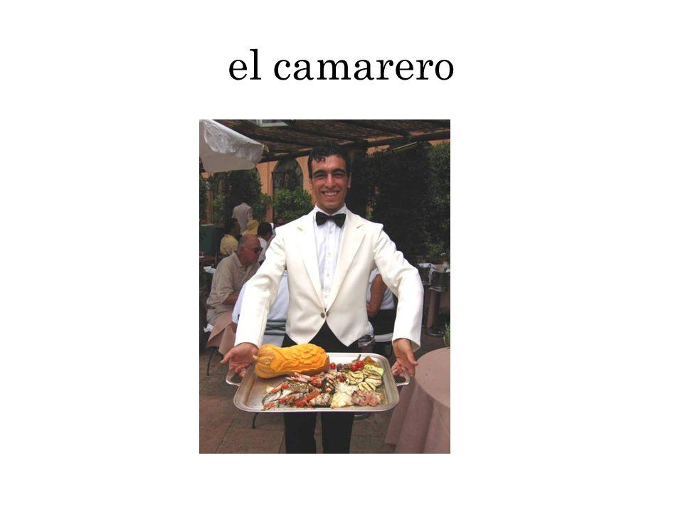 el camarero