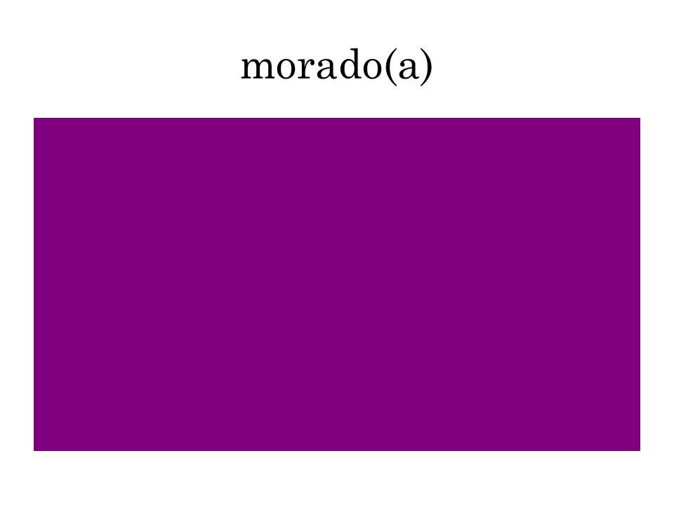 morado(a)