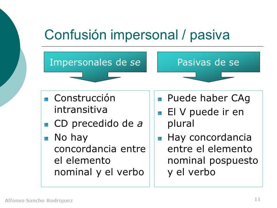 Alfonso Sancho Rodríguez 10 Ejemplos Se avisó demasiado tarde al médico.
