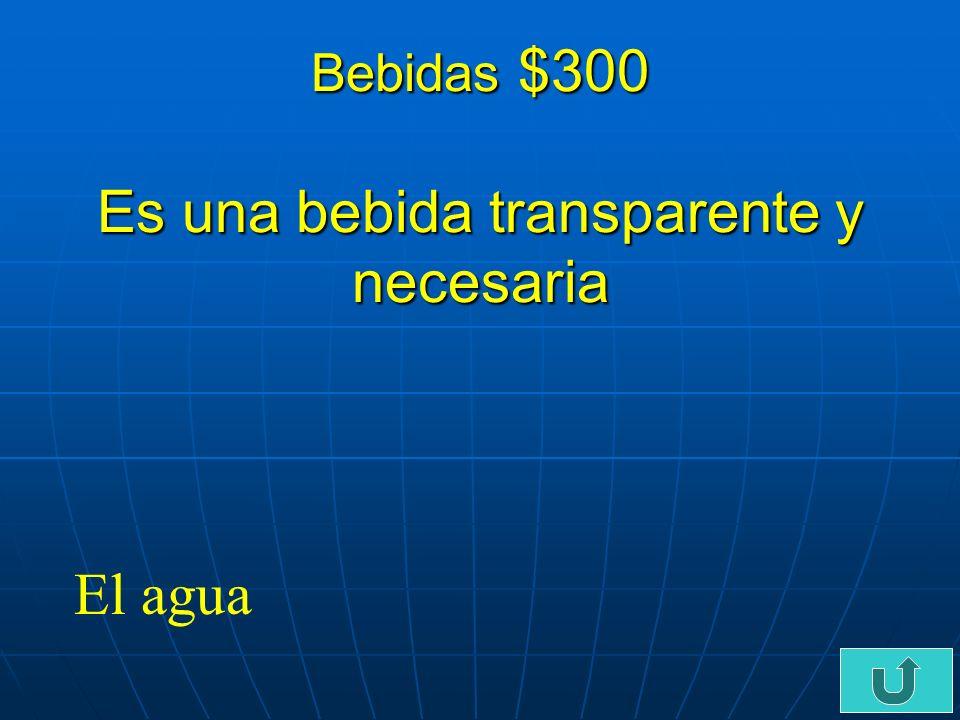 C3-$200 Bebidas $200 Cuando hace calor, bebo _______________ limonada