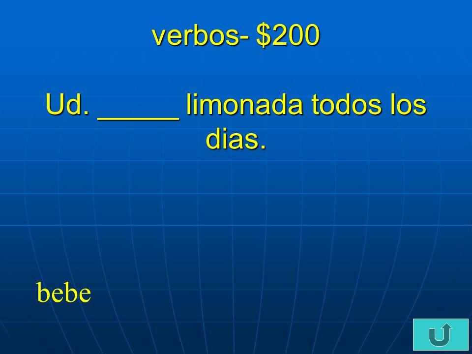 C5-$100 verbos- $100 Yo no como todo mi almuerzo. Yo _______ con mis amigos.