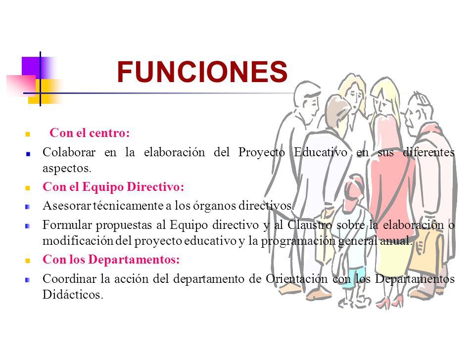 Con la comisión Técnica de Coordinación Pedagógica: Propuestas sobre: Aspectos psicopedagógicos y metodológicos.