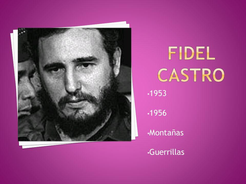 1953 1956 Montañas Guerrillas