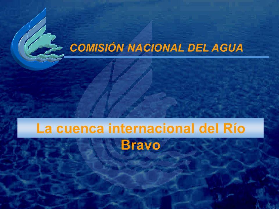 La cuenca internacional del Río Bravo COMISIÓN NACIONAL DEL AGUA