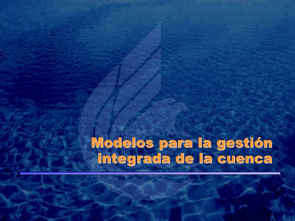 Modelos para la gestión integrada de la cuenca