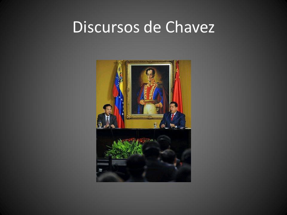 Discursos de Chavez