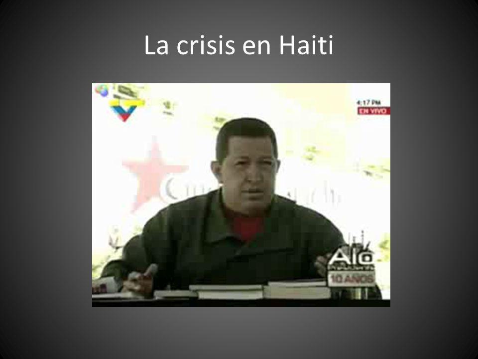 La crisis en Haiti