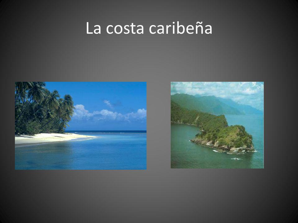 La costa caribeña