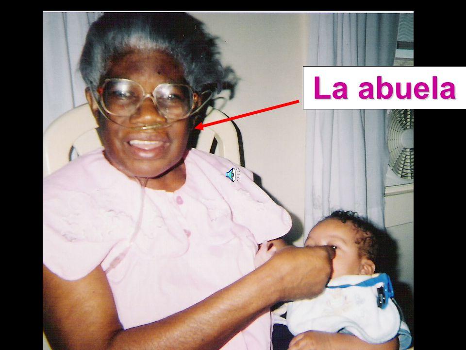 La mamá El papá El bebé