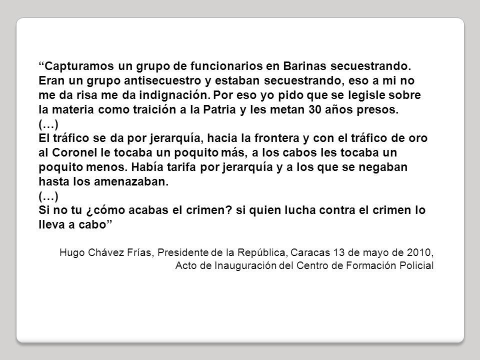 Capturamos un grupo de funcionarios en Barinas secuestrando.