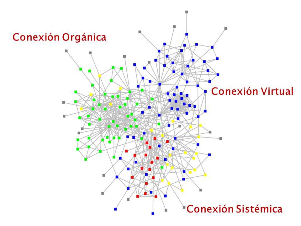 Conexión Orgánica Conexión Sistémica Conexión Virtual