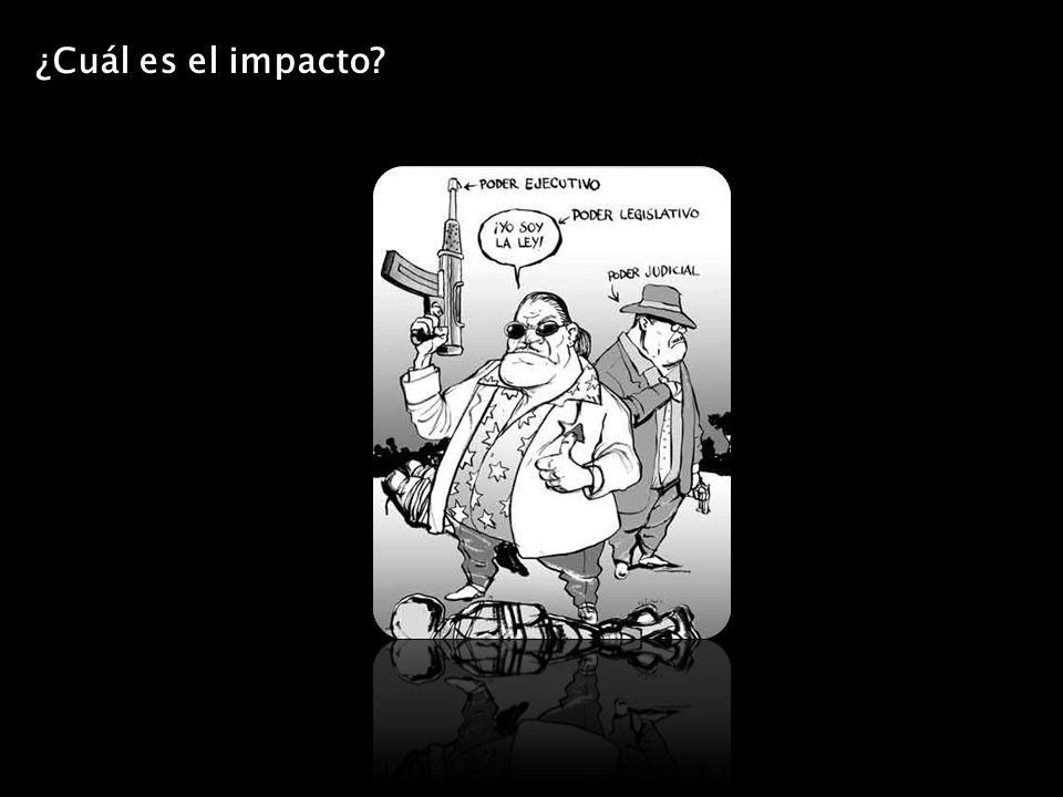 ¿Cuál es el impacto?